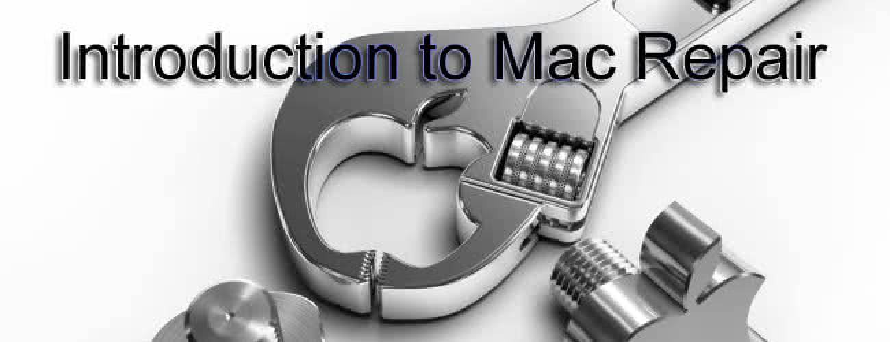Introduction to Mac Repair 3 - Advanced Maintenance Options
