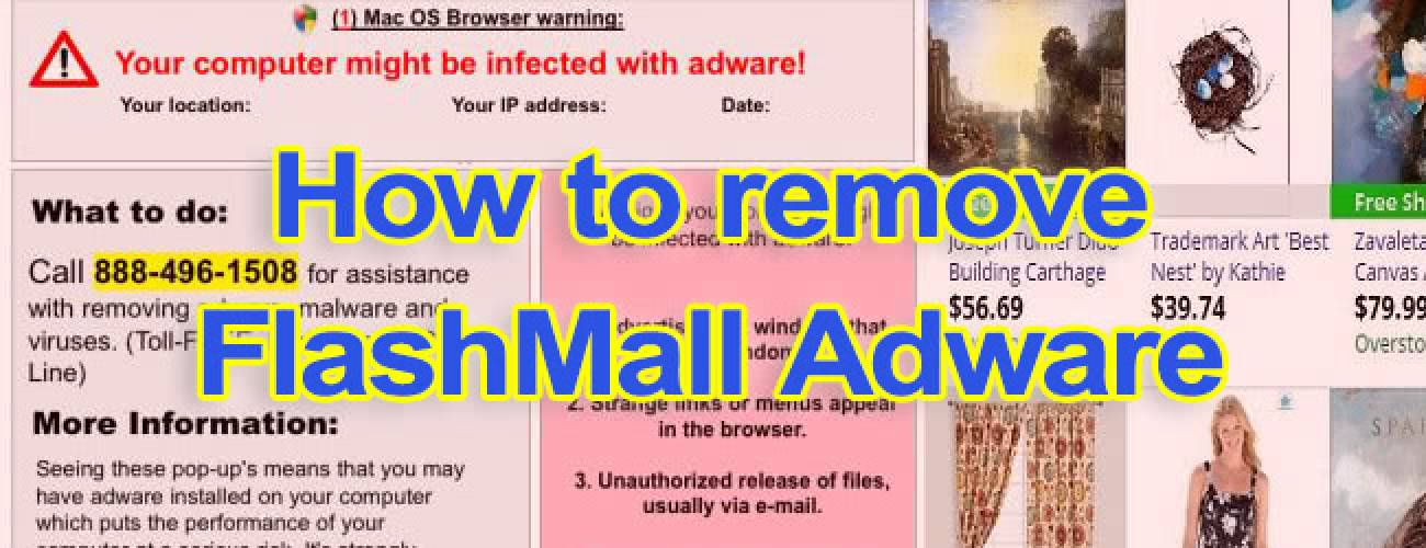 Remove FlashMall ads virus from Safari, Chrome and Firefox on Mac OS X