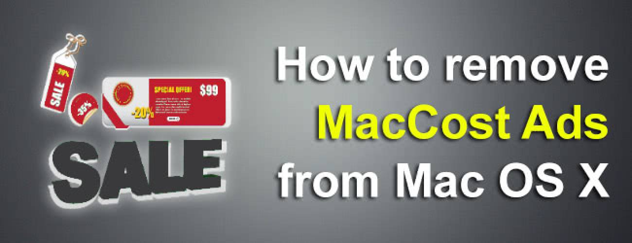 Remove MacCost ads (Mac Cost popup) on Mac OS X