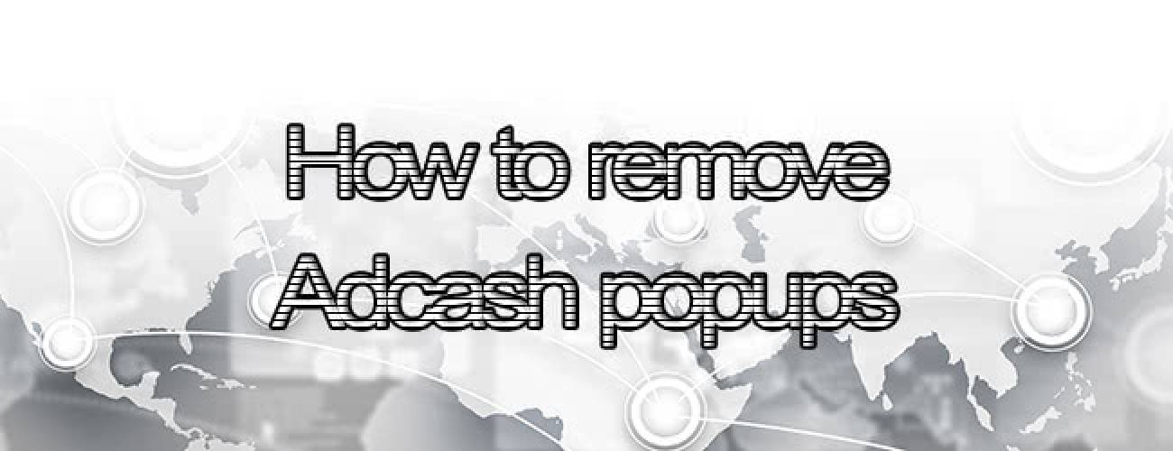 Remove Adcash popups from Mac OS X