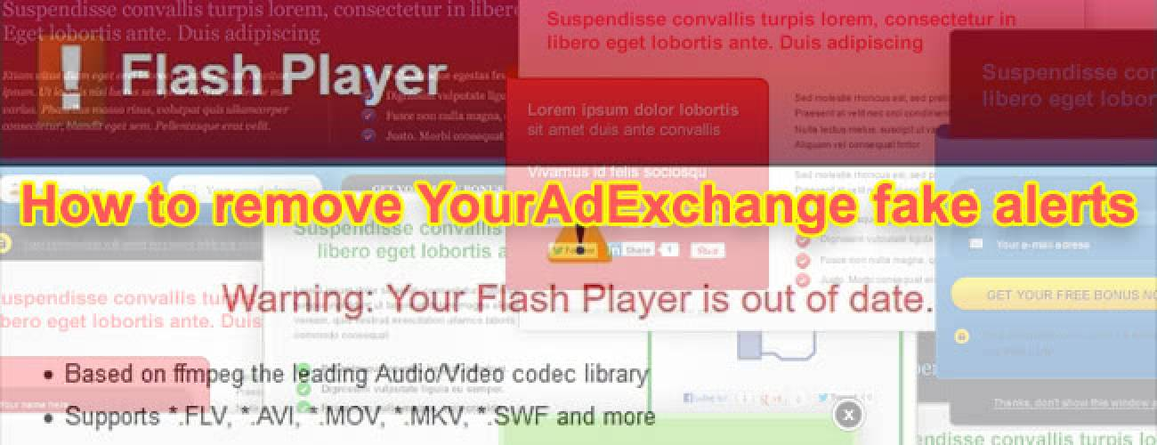 Remove YourAdExchange popups from Chrome, Safari, Firefox on Mac OS X