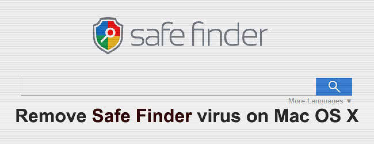 Remove Safe Finder virus from Mac in Safari, Chrome and Firefox