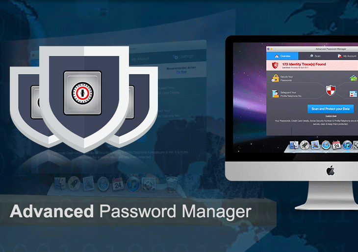 Remove Advanced Password Manager virus popup from Mac