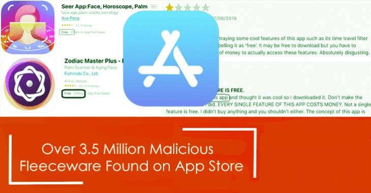 Millions of users installed iOS fleeceware from official App Store