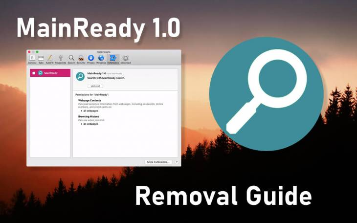 MainReady virus removal from Mac