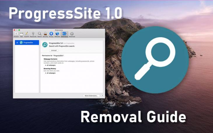How to remove ProgressSite virus from Mac