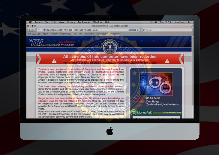 The FBI MoneyPak Virus Now Affects Mac OS X