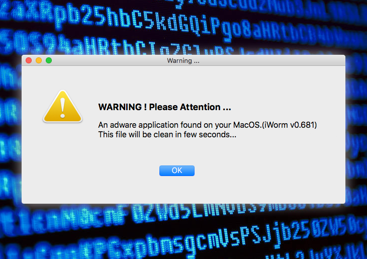 How to remove iWorm trojan virus from Mac