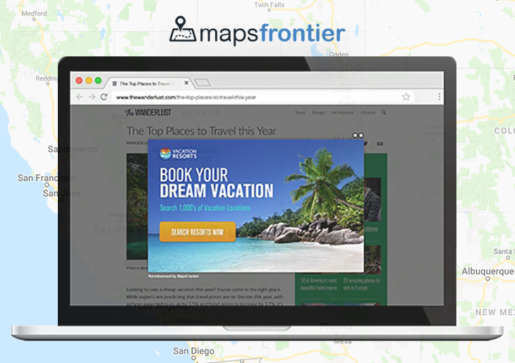 Remove Maps Frontier ads virus from Mac