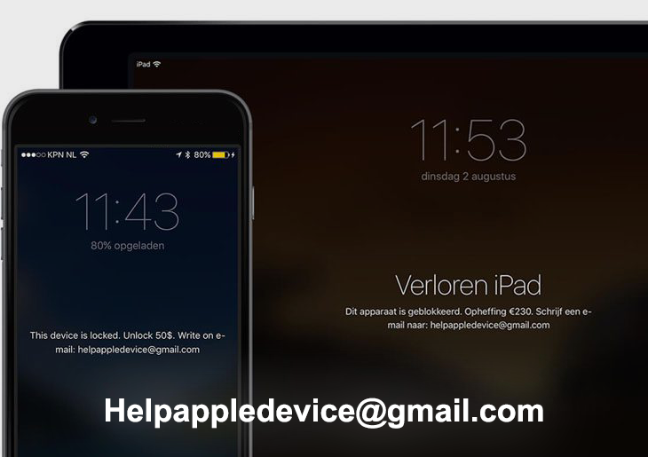 Helpappledevice@gmail.com virus: How to unlock infected iPhone or iPad