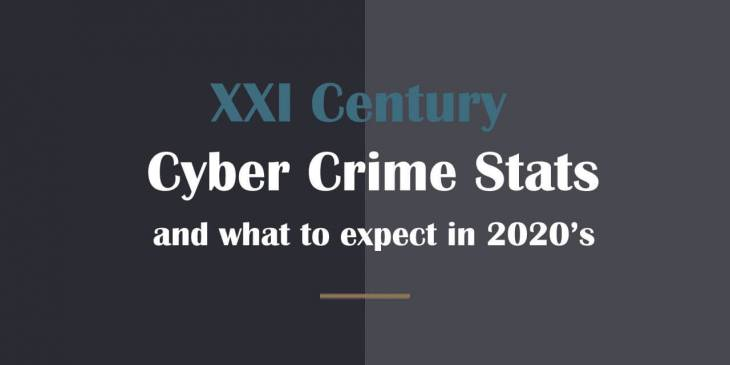 XXI century cybercrime stats and what to expect in the 2020s