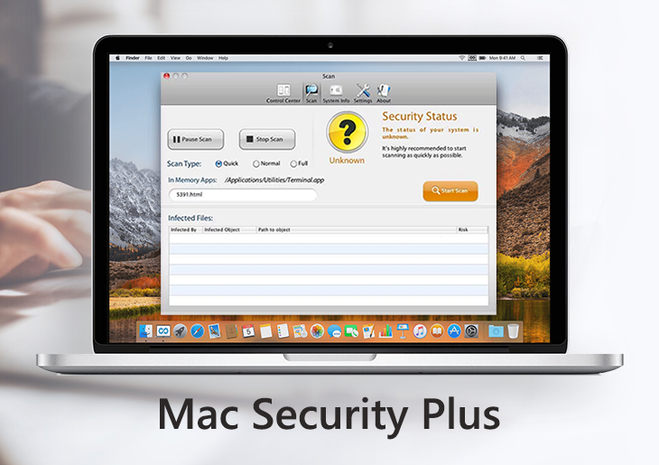 Remove Mac Security Plus virus