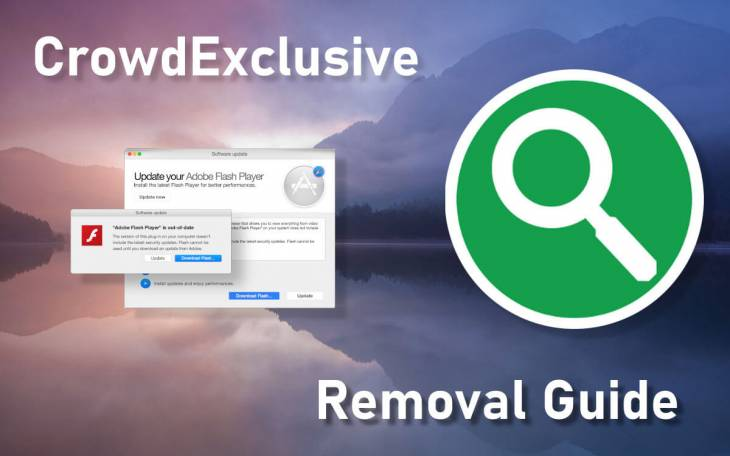 Remove Crowd Exclusive 1.0 app virus from Mac