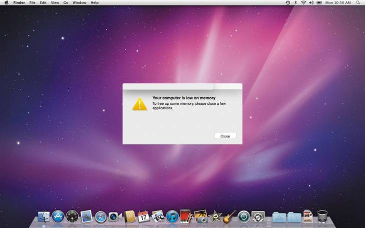 "Remove ""Your computer is low on memory"" popup virus on Mac"