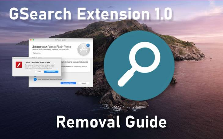 Remove GSearch virus (GSearch Extension 1.0) from Mac
