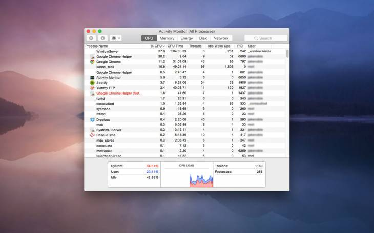 How to fix WindowServer high CPU and memory usage on Mac