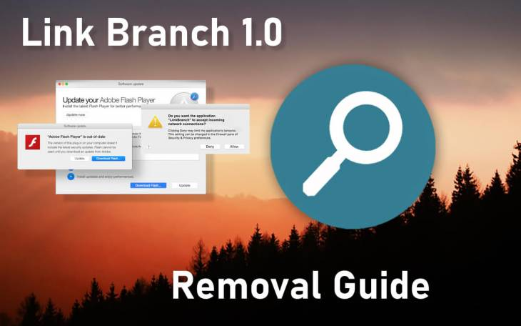 Remove LinkBranch (Link Branch 1.0) virus from Mac