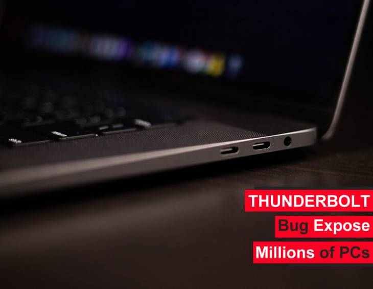 Major Thunderbolt security loopholes fuel data theft, Macs partially affected