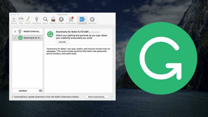 How to remove Grammarly on Mac