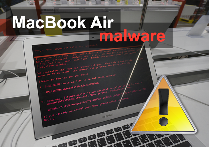 Remove malware from MacBook Air