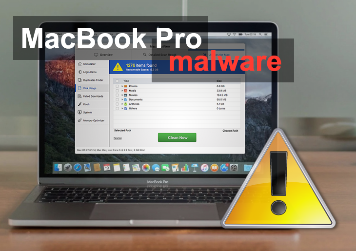 Como remover un virus de la MacBook Pro